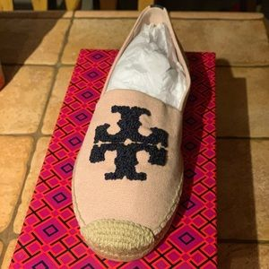 fe790c64706b2f Tory Burch Shoes - Tory Burch Elisa logo flat espadrille